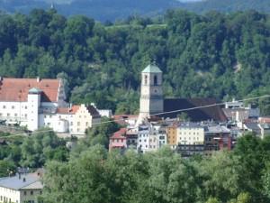 Blick auf Wasserburg